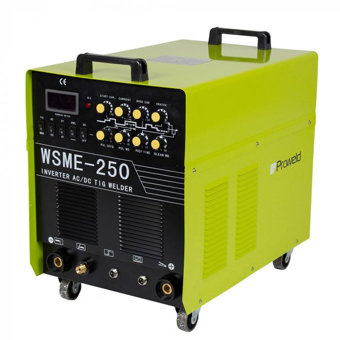 ProWELD WSME-250 AC/DC (400V), invertor sudare TIG, sudura aluminiu [1]