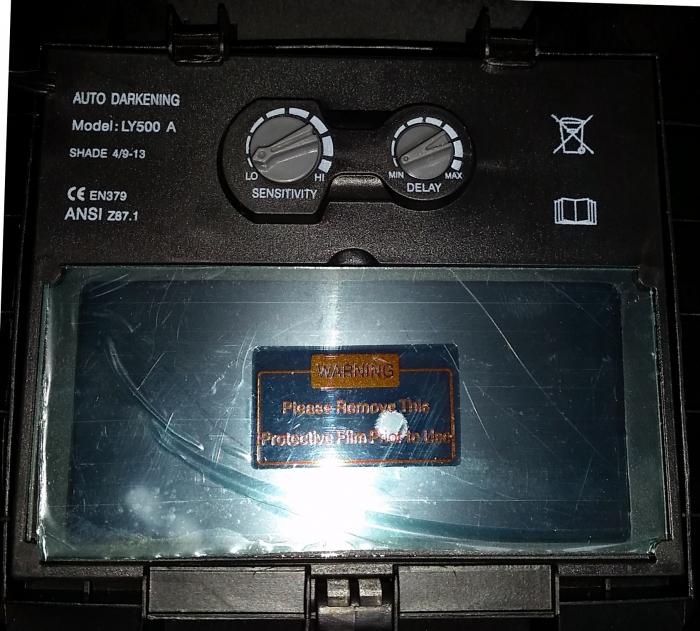 ProWELD YLM 9532A (eagle) masca sudura automata LCD, reglabila 0