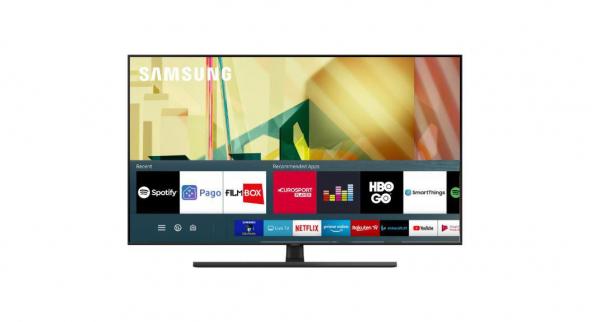 Televizor Samsung 85Q80T, 214 cm, Smart, 4K Ultra HD, QLED, Clasa A 0