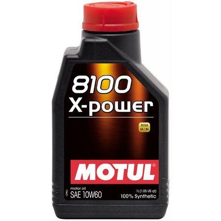 Ulei motor Motul 8100 X-Power, 10W60, 1L [0]