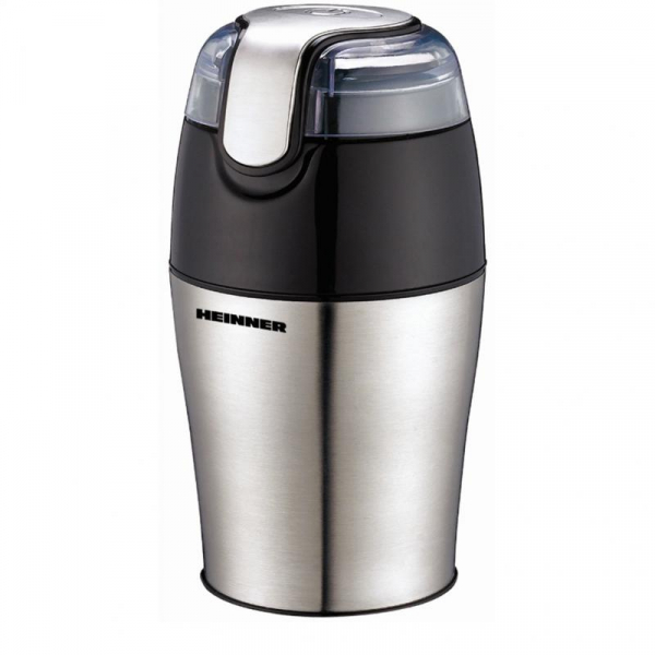 Rasnita de cafea Heinner HCG-150SS, 150 W, 50 g, Inox 0
