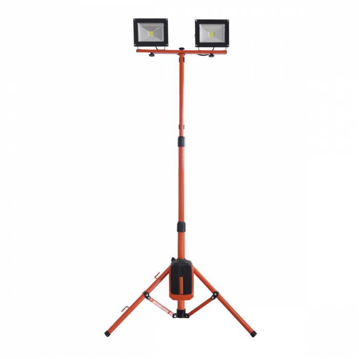 Redback ED40 Stand proiectoare LED acumulatori 40V, 2x20W, solo 0