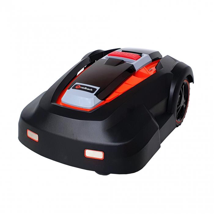 Redback RM24A-15, robot pentru tuns gazonul, acumulator 4Ah, latime taiere 24cm, max. 1500m2 0