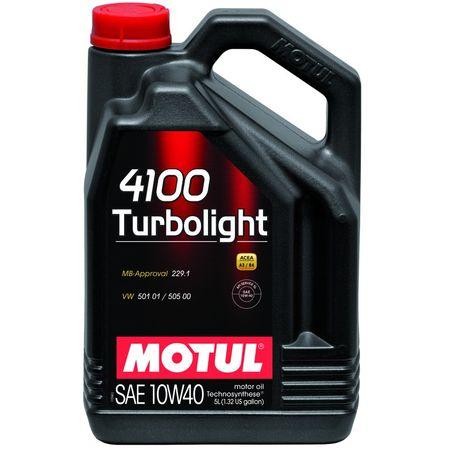 Ulei motor Motul 4100 Turbolight, 10W40, 2L [0]