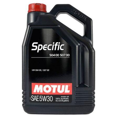 Ulei motor Motul Specific 504.00-507.00, 5W30, 5L [0]