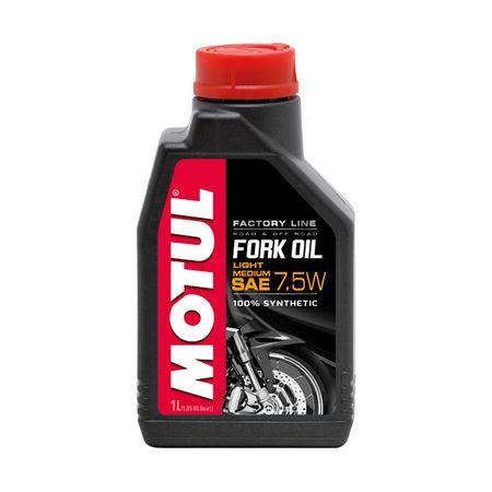 Ulei furca moto MOTUL Fork Oil Factory Line 7.5W Light/Medium, 1L 0