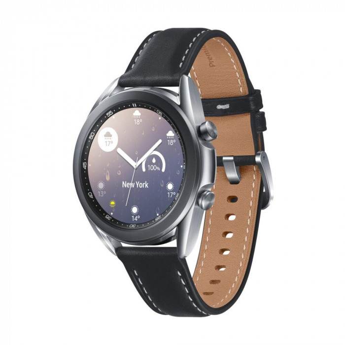 Ceas smartwatch Samsung Galaxy Watch3, 41mm, Silver 0