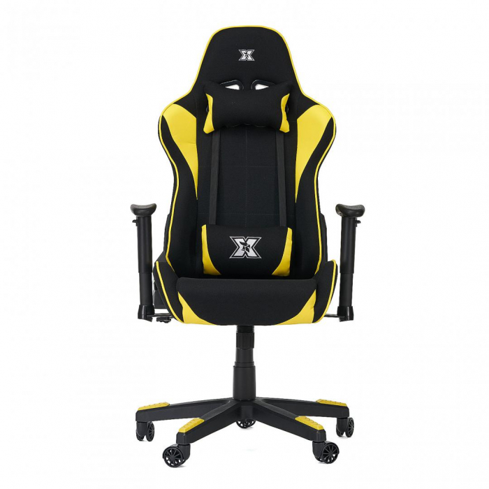 SCAUN GAMING SERIOUX TORIN TXT YELLOW 0