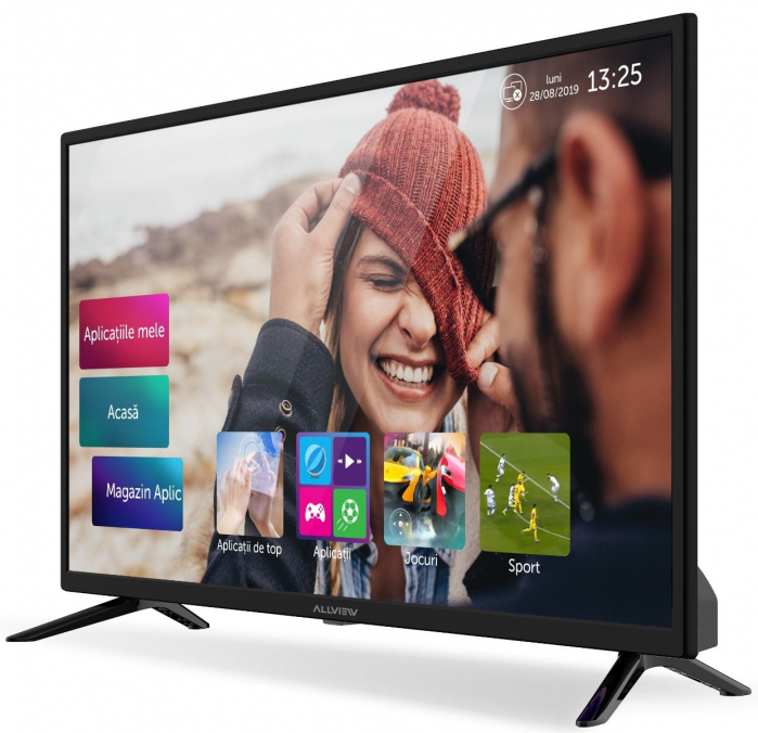 Televizor LED Smart Allview, 81 cm, 32ATS5000-H, HD, Clasa A+ 2