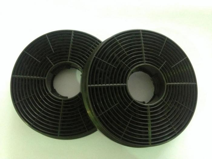 Set filtre de carbon hota Heinner FC-440GBK, compatibile cu modelele HTCH-440GBK, HTCH-440FS, DCH-350RGBK, 2 buc/set 0