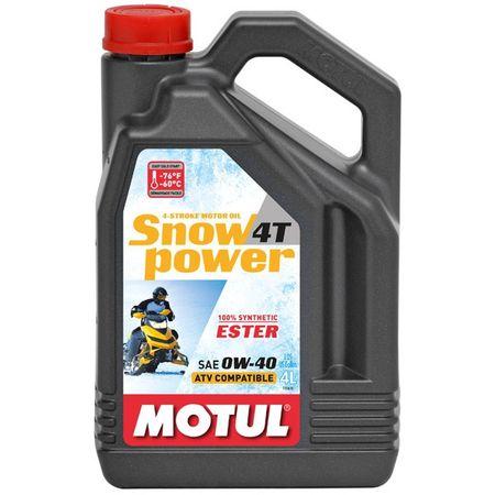 Ulei Motul Snowpower 4T 0W40, 4L [0]