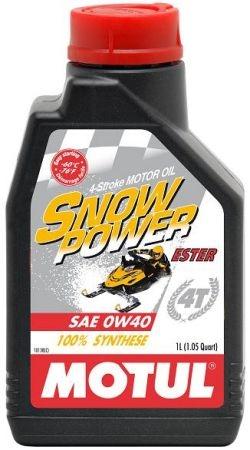 Ulei Motul Snowpower 4T 0W40, 1L [0]