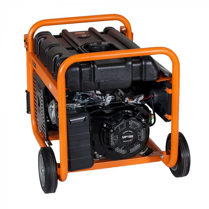 Stager GG 7300-3W generator open-frame 5.8kW, trifazat, benzina, pornire la sfoara 1