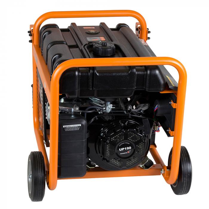 Stager GG 7300EW generator open-frame 5.8kW, monofazat, benzina, pornire electrica 2