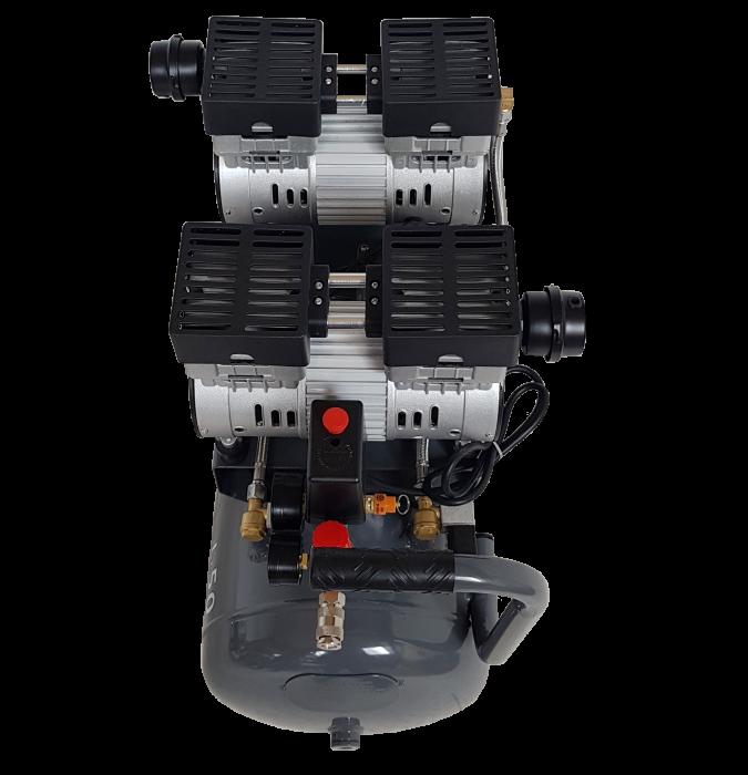 Stager HM0.75x2JW/50 compresor aer, 50L, 8bar, 330L/min, monofazat, angrenare directa, silentios [2]