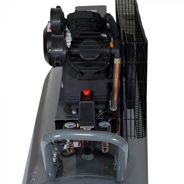 Stager HMV0.25/250 compresor aer, 250L, 8bar, 250L/min, monofazat, angrenare curea 1