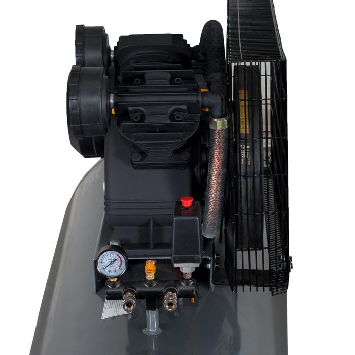 Compresor aer Stager HMV0.6/370, 370L, 8bar, 600L/min, trifazat, angrenare curea 1