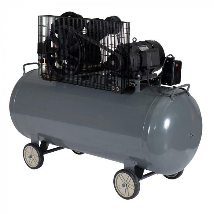 Compresor aer Stager HMV0.6/370, 370L, 8bar, 600L/min, trifazat, angrenare curea 2