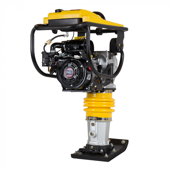Stager SG80LC Mai compactor, 80kg, Loncin LC168F-2H, benzina 0