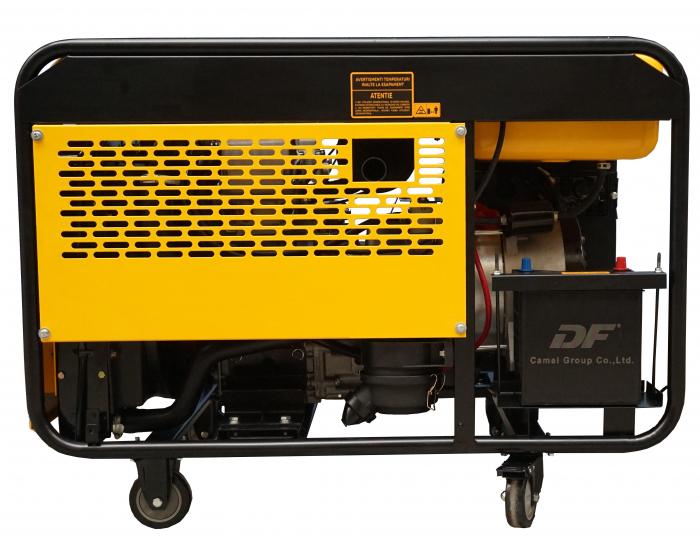 Stager YDE12E Generator open frame diesel monofazat, 8.5kW, pornire la cheie [2]