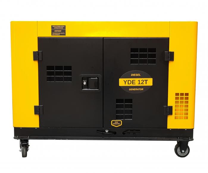 Stager YDE12T Generator insonorizat diesel monofazat 8.5kVA, 37A, 3000rpm [0]