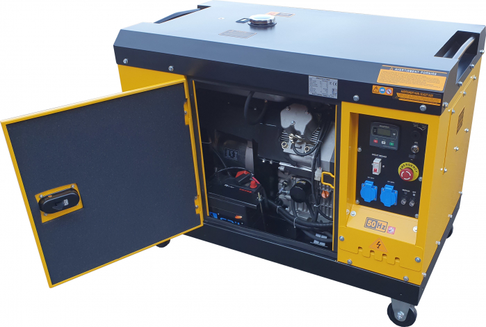 Stager YDE15000T Generator insonorizat diesel monofazat 11kVA, 48A, 3000rpm 2