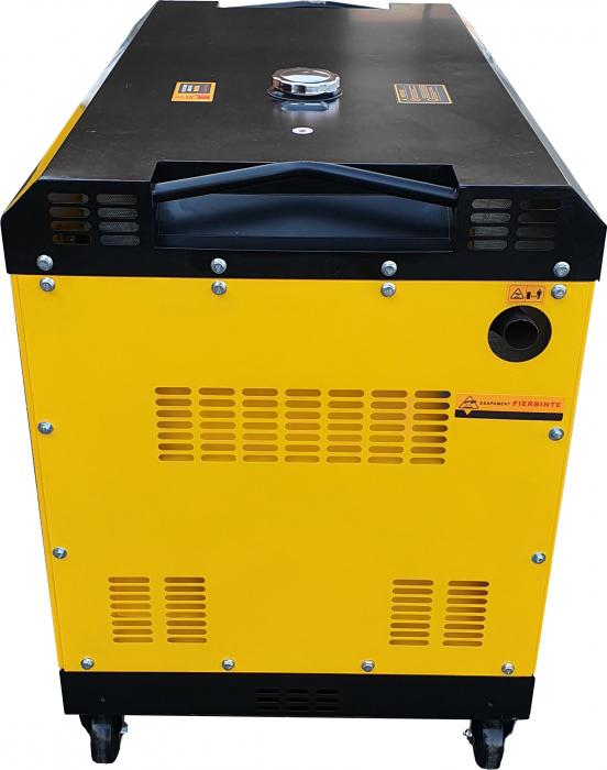 Stager YDE15000T3 Generator insonorizat diesel trifazat 13kVA, 19A, 3000rpm [2]