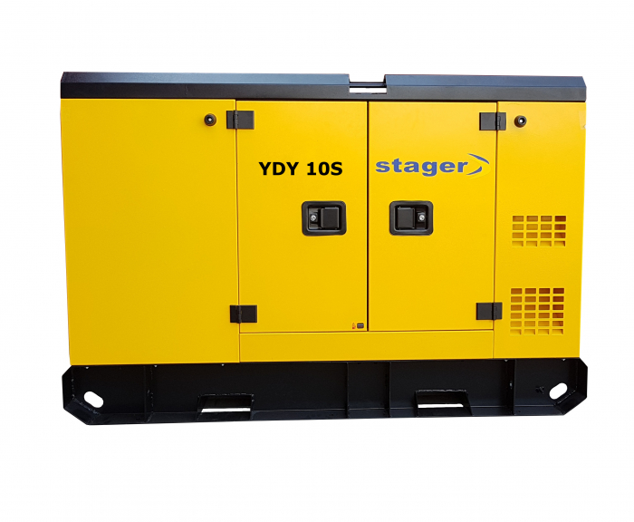 Stager YDY10S Generator insonorizat diesel monofazat 8.6kVA, 37A, 1500rpm 1