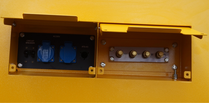 Stager YDY165S3 Generator insonorizat diesel trifazat 150kVA, 217A, 1500rpm [0]