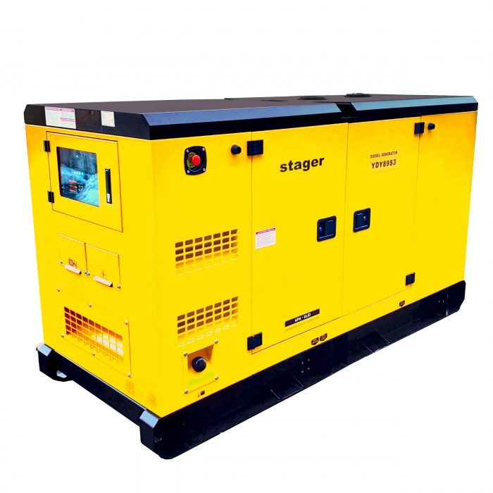 Stager YDY89S3 Generator insonorizat diesel trifazat 80kVA, 115A, 1500rpm 1
