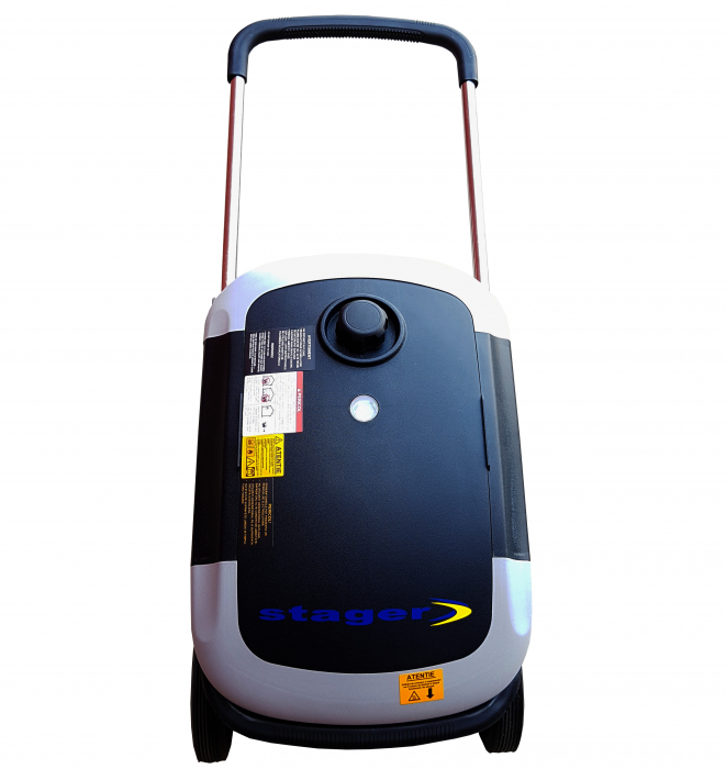 Stager YGE3000i Generator digital invertor monofazat, 2.8kW, benzina, pornire la sfoara 1