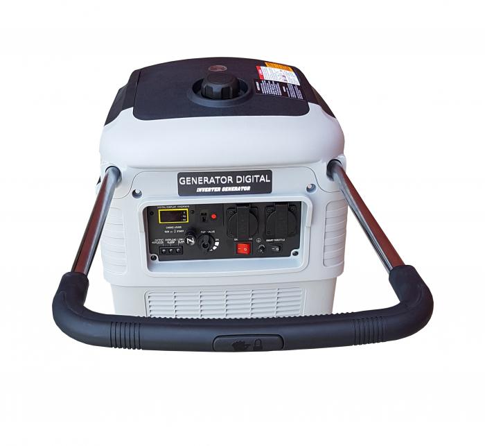 Stager YGE3000i Generator digital invertor monofazat, 2.8kW, benzina, pornire la sfoara 2