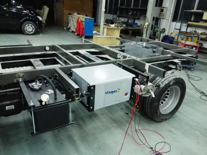 Stager YGE3500Vi Generator digital invertor monofazat, 3kW, benzina, pornire electrica, autorulote 1
