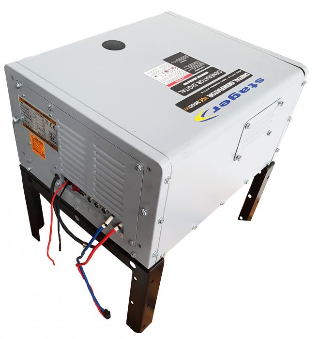Stager YGE3500Vi Generator digital invertor monofazat, 3kW, benzina, pornire electrica, autorulote 0