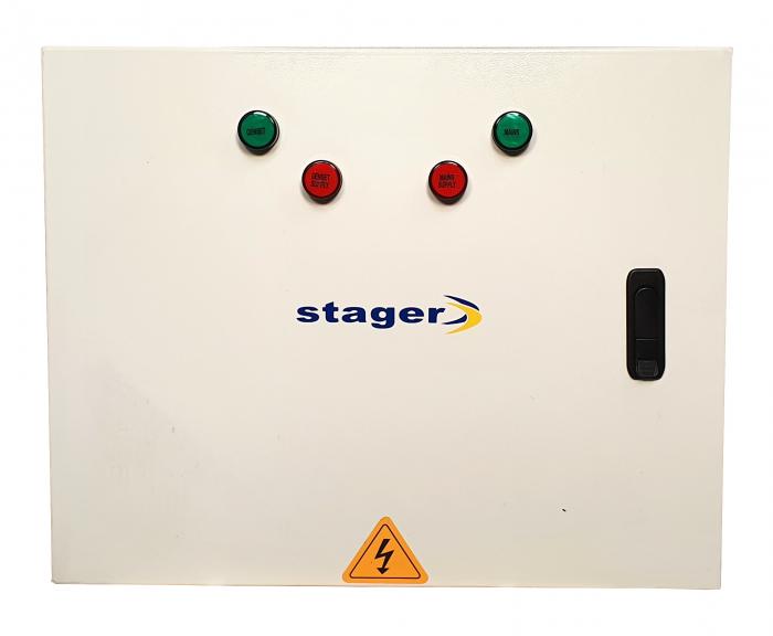 Stager YN20063F12 automatizare monofazata 63A, 12Vcc 1