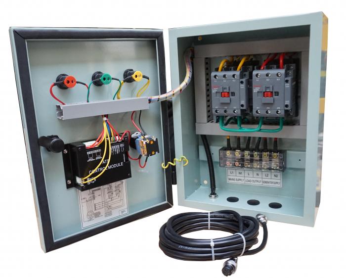 Stager YPN20063F12S automatizare monofazata 63A, 12Vcc, protectie 2