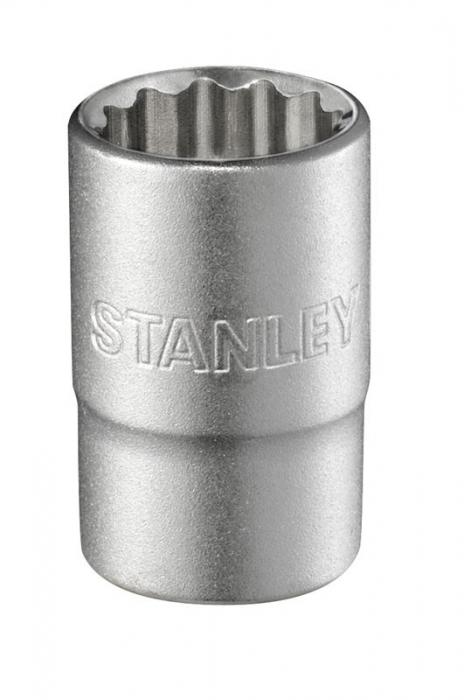 """Stanley 1-17-058 Tubulara scurta in 12 puncte 1/2""""-15mm 0"""
