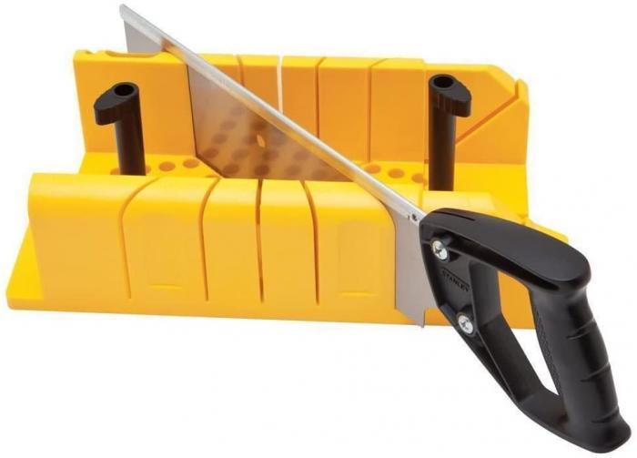 Stanley 1-20-600 Dispozitiv de taiat in unghi cu cleme si ferastrau 0