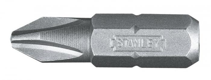 """Stanley 1-68-950 Biti 1/4"""" Phillips PH3 x 25mm - 25 buc 0"""