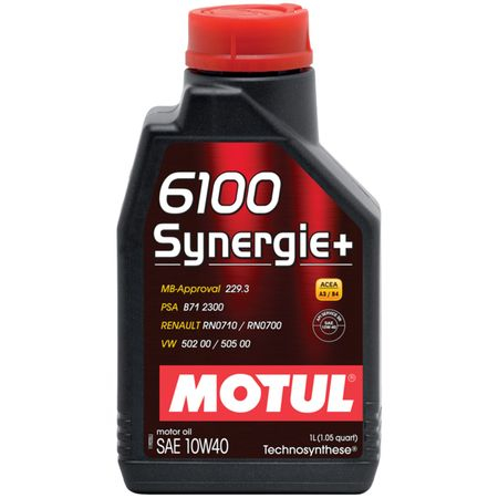 Ulei motor Motul 6100 Synergie+, 10W40, 1L 0
