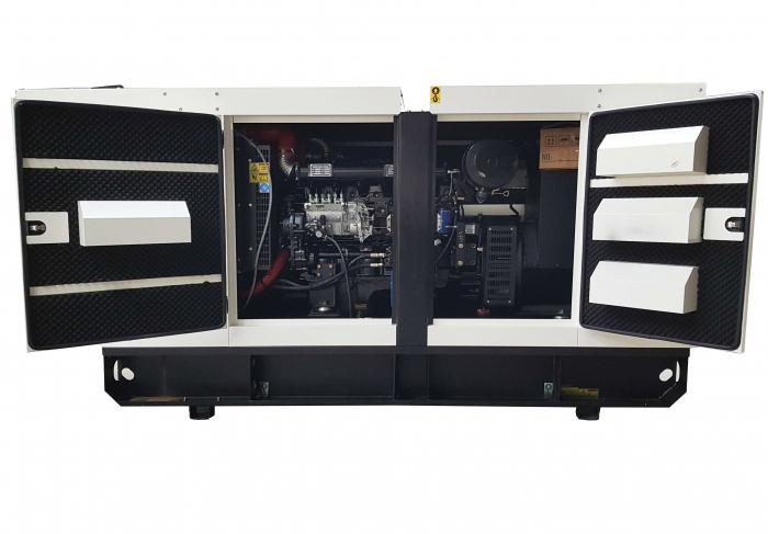 Tide Power TC113C-T Generator insonorizat diesel trifazat, 113kVA, 162A, 1500 rpm cu automatizare [0]