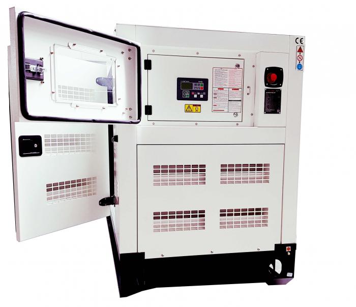Tide Power TC113C-T Generator insonorizat diesel trifazat, 113kVA, 162A, 1500 rpm cu automatizare [1]