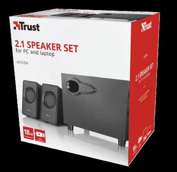 Trust Avora 2.1 Speaker Set 4