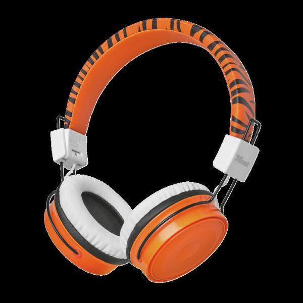 Trust Comi BT Kids Headphones - Orange 0