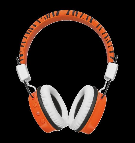 Trust Comi BT Kids Headphones - Orange 4