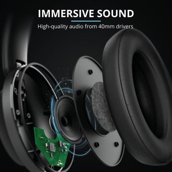 Trust Eaze Wireless Over-ear Headphones 7