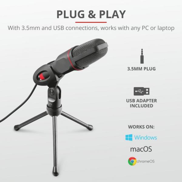Trust GXT 212 Mico USB Mic 2