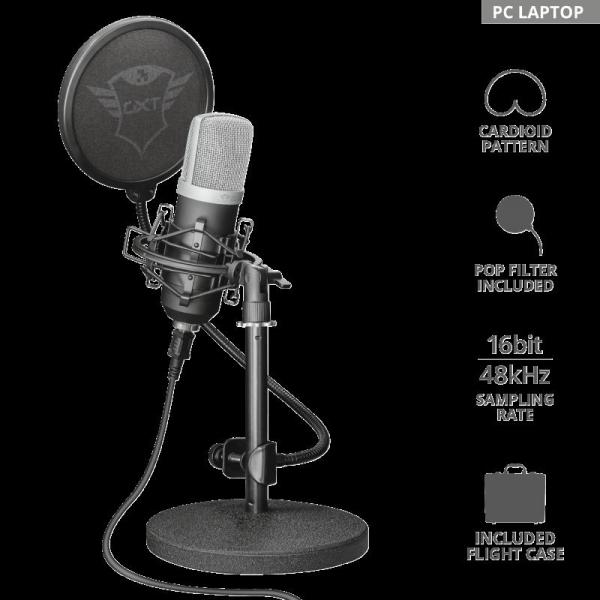 Microfon Trust Emita GXT252 1