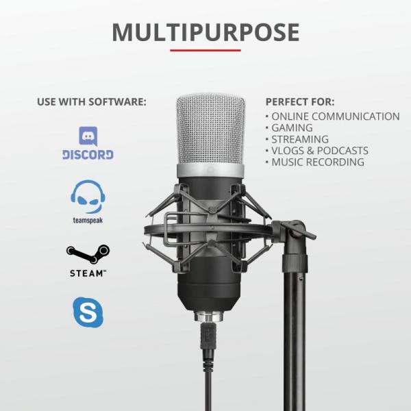 Microfon Trust Emita GXT252 3