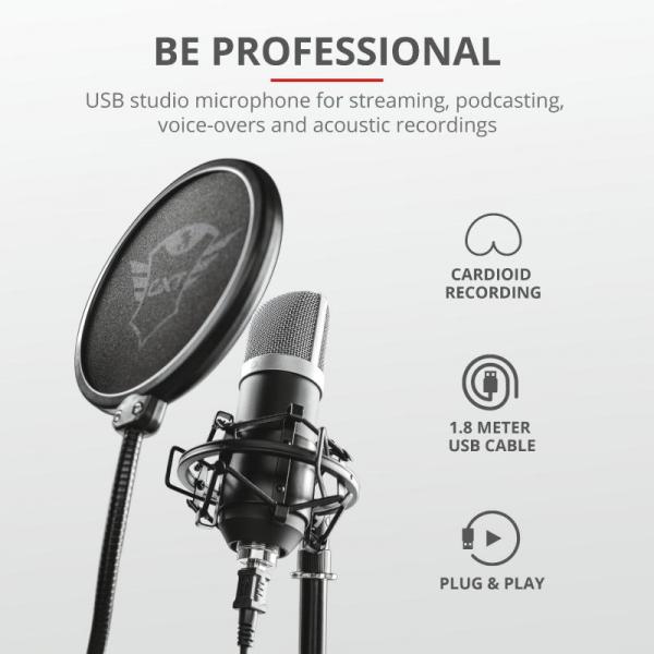 Microfon Trust Emita GXT252 2